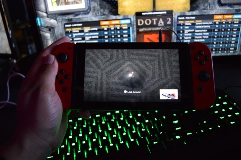 Got to play the Nintendo Switch