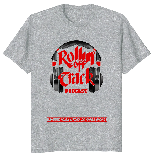 Rotpod Headphones Red Letters t-shirt