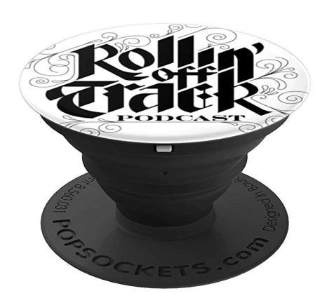 Rotpod popsocket black and white